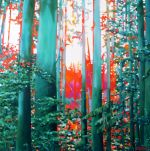 woods-06  -  2010 (2011)  -  70cm x 70cm  -  oil on canvas
